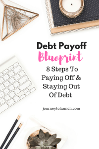 8 Steps To Paying Off & Staying Out Of Debt