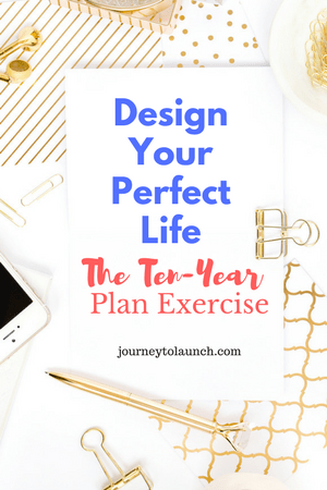 Design Your Perfect Life- 10 Year Plan