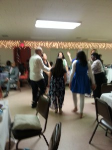 Praising the Lord in the dance