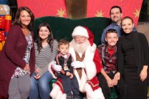 2016 Family Santa Photo