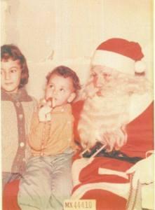 first Santa photo 1961