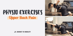 Physiotherapy exercises for upper back pain