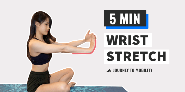 Wrist Stretches for Yoga (EASY Follow Along)
