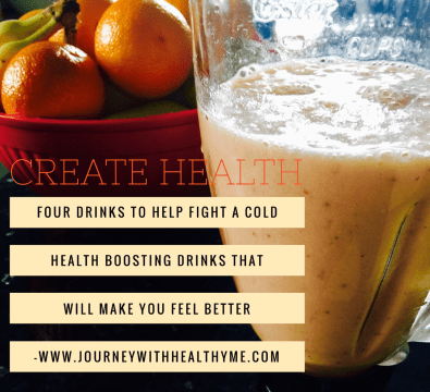Four drinks to help to fight a cold