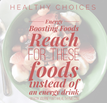 Energy Boosting Foods