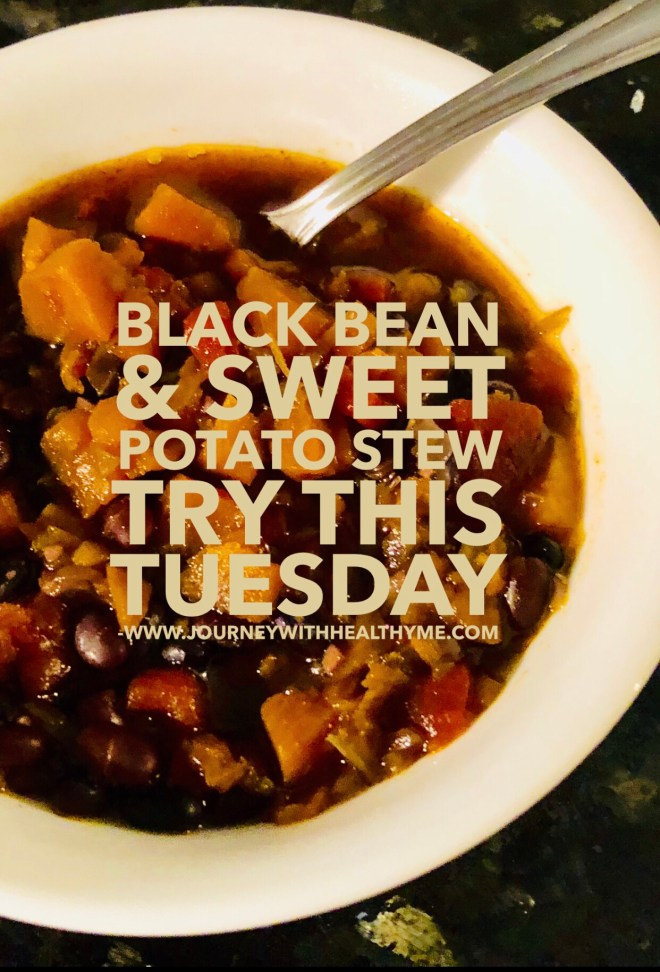 Black Bean and Sweet Potato Stew