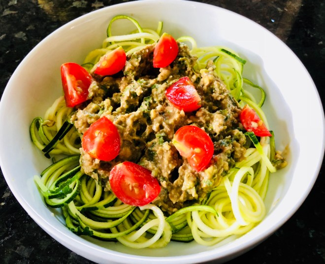 Oil Free Basil Pesto