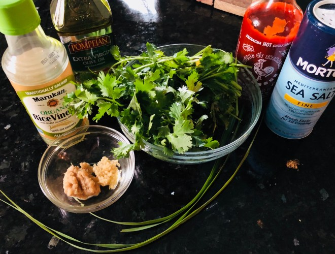 Cilantro Lemongrass Sauce