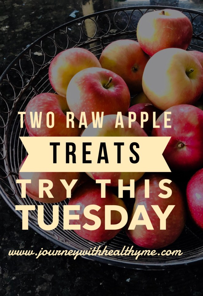 Two Raw Apple Treats