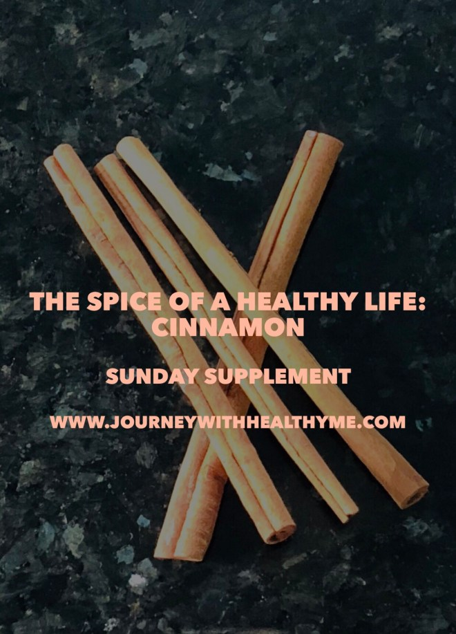 The Spice of a Healthy Life Cinnamon