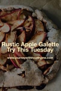 Rustic Apple Galette