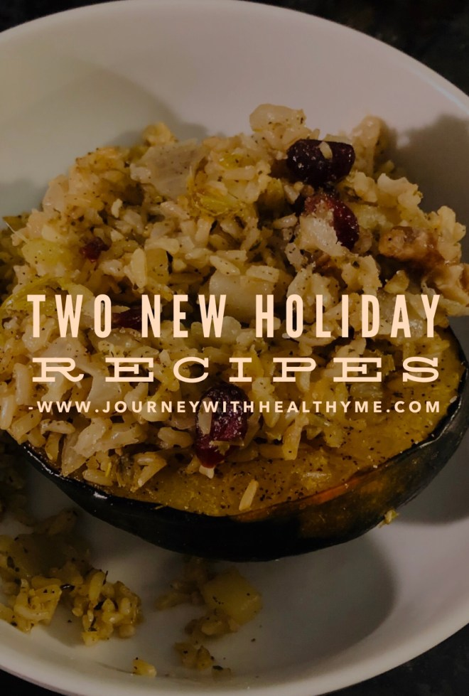 Two New Holiday Recipes