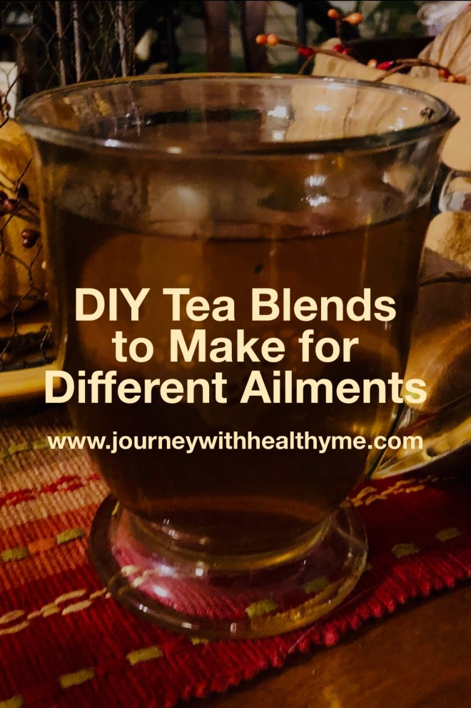 DIY Tea Blends to Make for Different Ailments