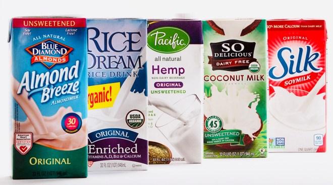 8 Plant Based Milks