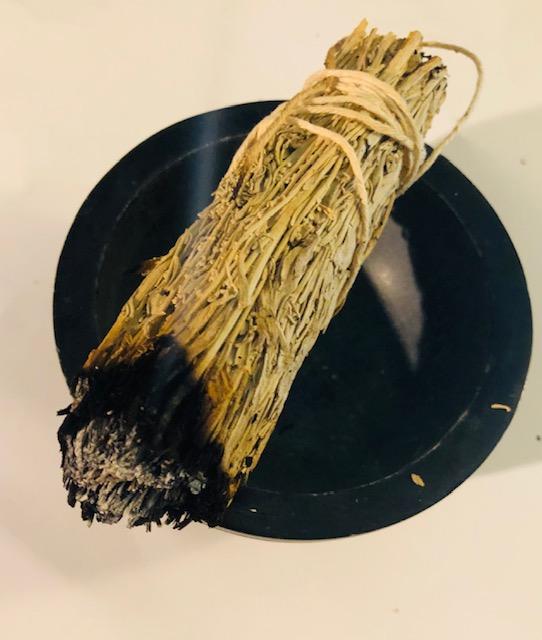 Smudging Sage for Health