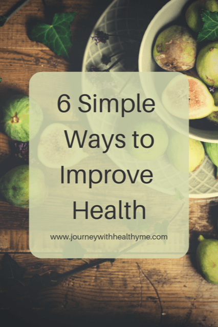 6 Simple Ways to Improve Health
