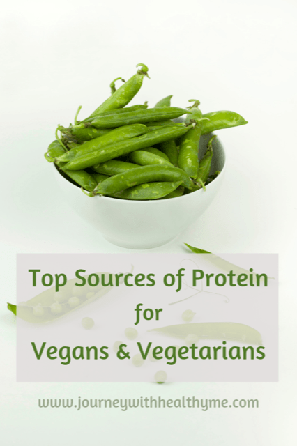 Top Sources of Protein for Vegans & Vegetarians