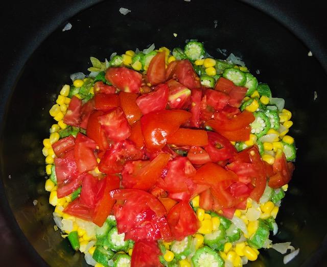 Summer Succotash in the Pressure Cooker