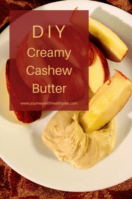 DIY Creamy Cashew Butter Title Meme