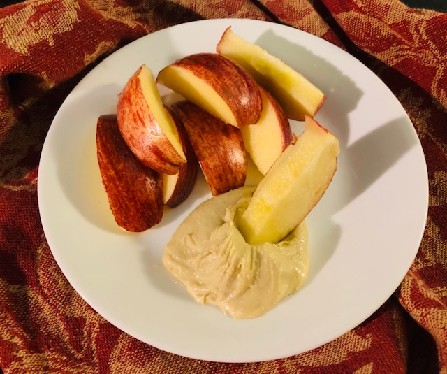 Creamy Cashew Butter and Apples