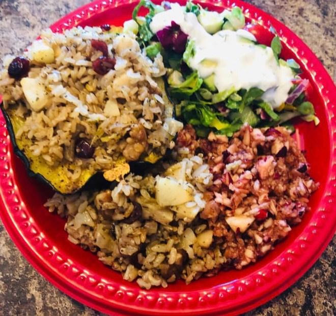 Raw Cranberry Relish Plant Based Thanksgiving