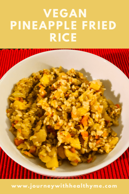 Vegan Pineapple Fried Rice title meme