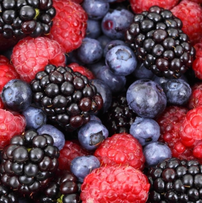 Mixed Berries for Brain Health