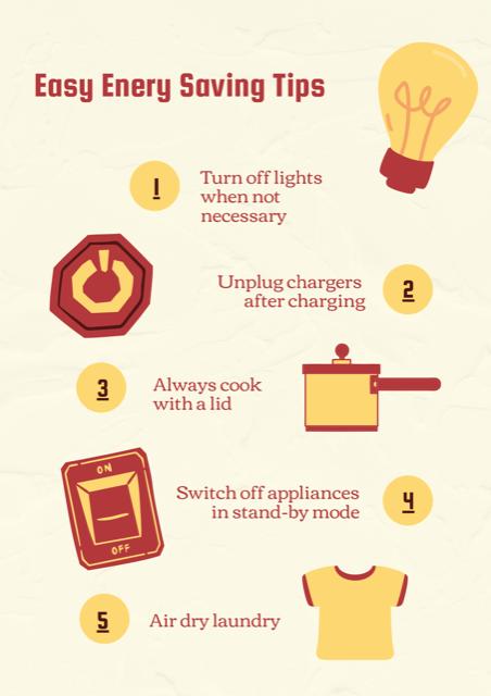 Easy Ways to Save Energy