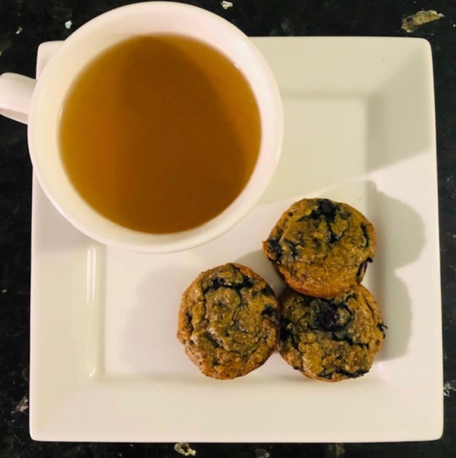 Recipes for National Blueberry Day mini muffins