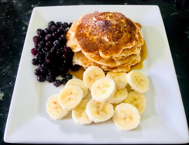 Recipes for National Blueberry Day pancakes