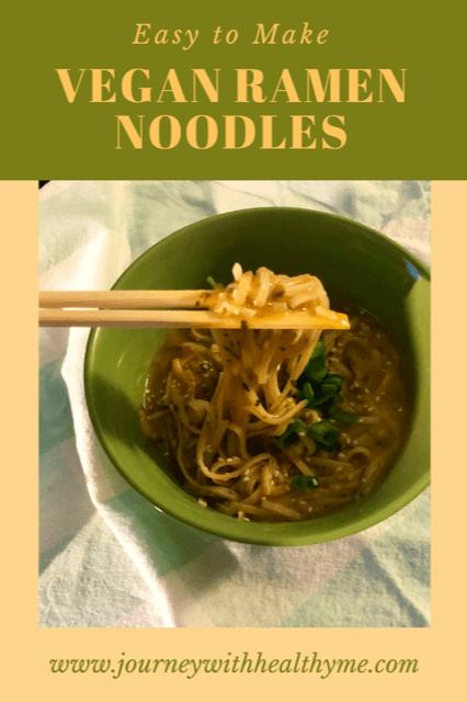 Vegan Ramen Noodles title meme