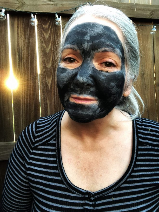 Try a Clay and Charcoal Mask drying