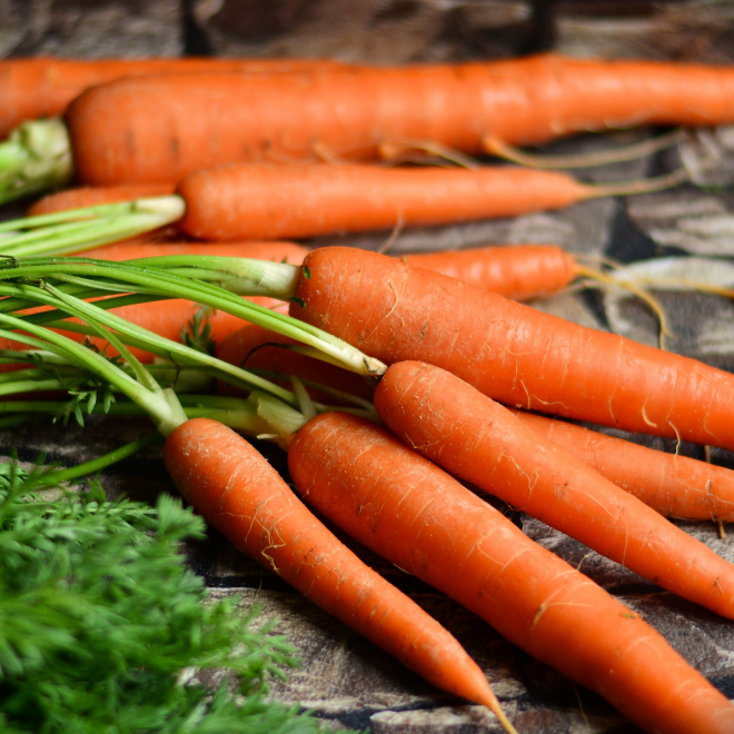 Healthiest Root Vegetables carrots