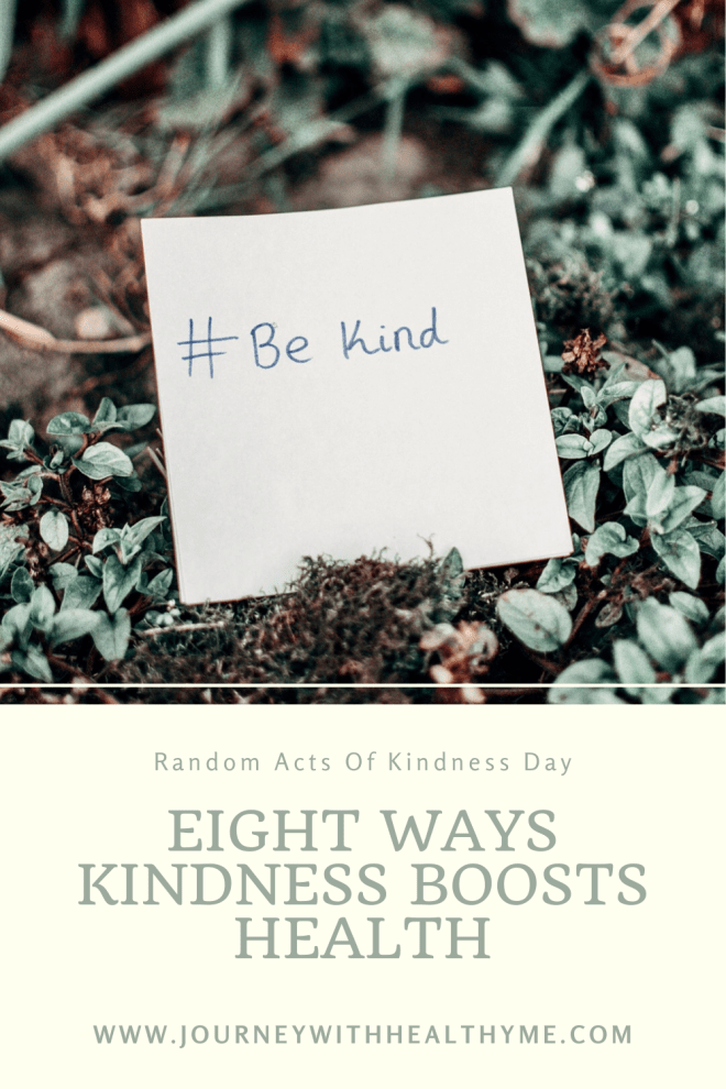 Eight Ways Kindness Boosts Health title meme