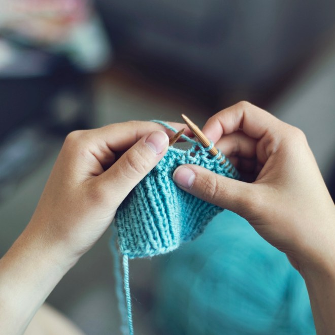 Heart Health Tips knitting