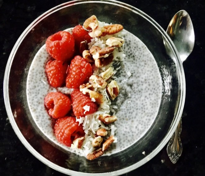 Heart Healthy Snacks chia pudding