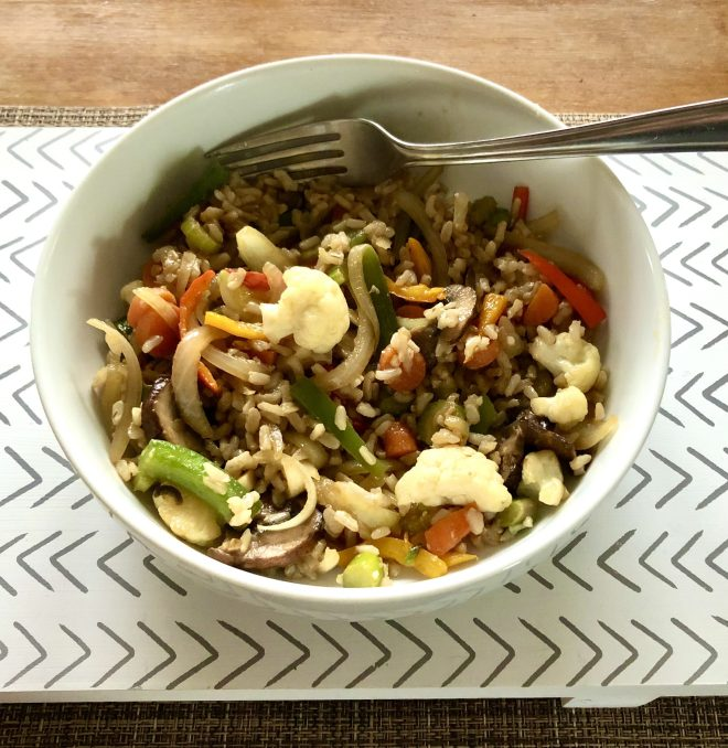Creating Highly Nutritious Meals stir fry