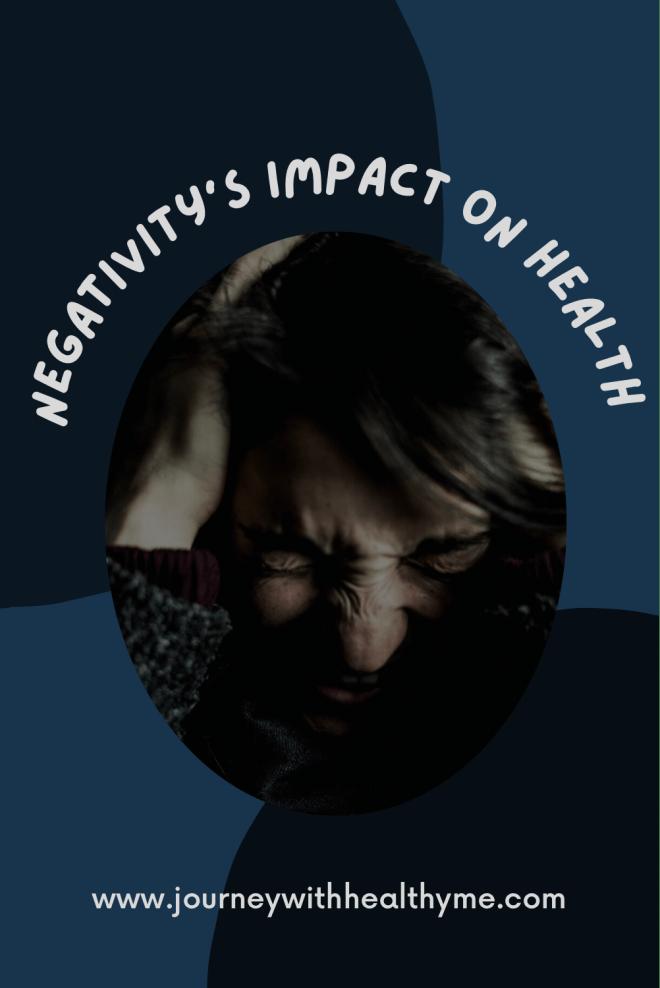 Negativity's Impact on Health title meme