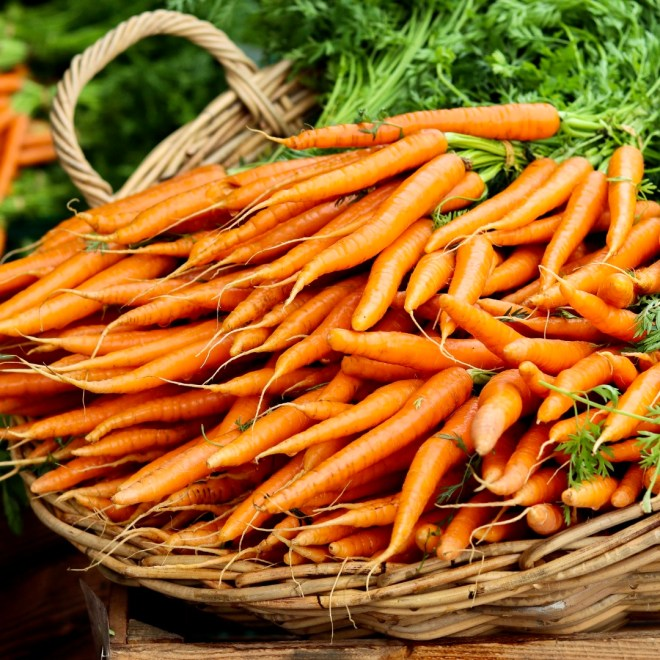 Prevent Skin Cancer carrots