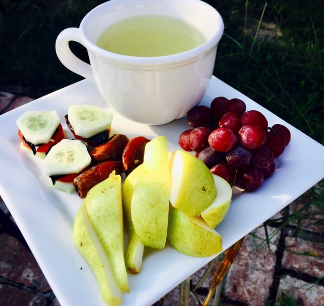 Raw Vegan Diet Benefits tea time
