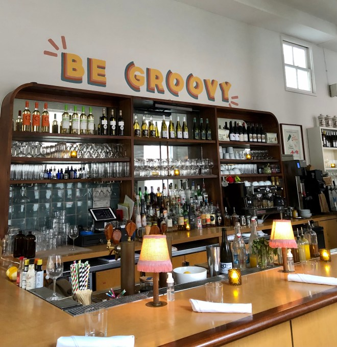 Vegan Eats in Charleston basic kitchen groovy