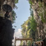 The entrance to Batu Caves, Malaysia