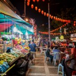 Jalan Alor night street food markets