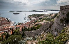View of Hvar from the fort