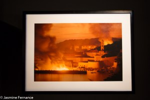 Dubrovnik Burning, photo from War Photos Limited