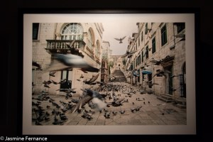 Empty Dubrovnik, photo from War Photos Limited