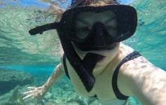 Jasmine Fernance Snorkeling