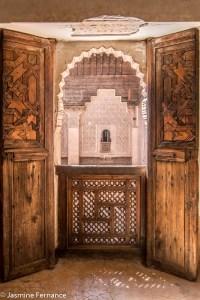 Inside Marrakech's Medersa Ali ben Youssef