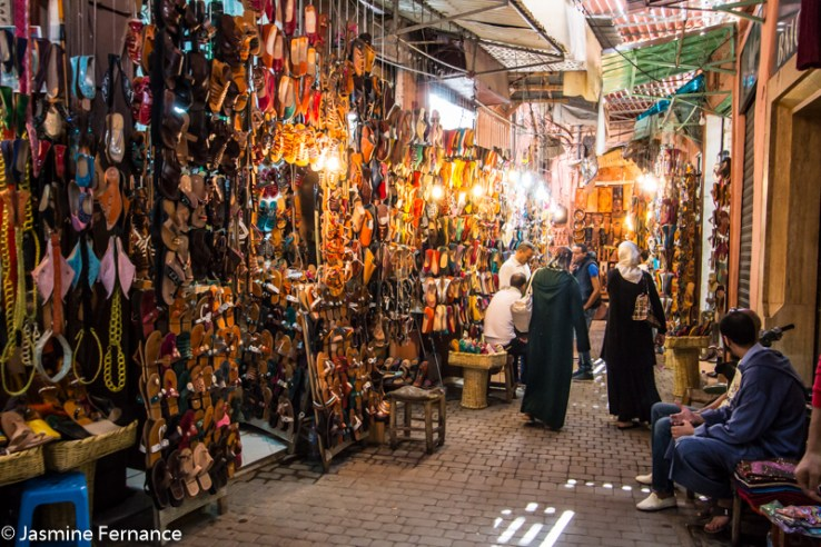 Marrakech medina and souks