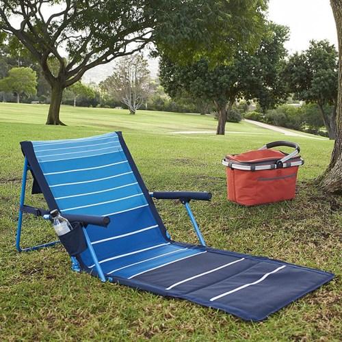 Lightspeed Outdoors Deluxe Beach Chair Lounger